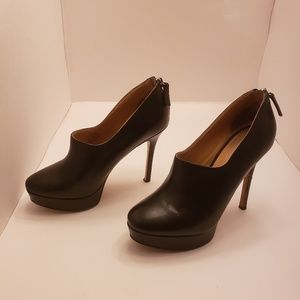 Nine West platform black beautiful booties